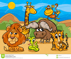 group of animals clipart. Simple Animals Wild Animals Group Cartoon Illustration Stock Vector Of Clipart 1300 Throughout E