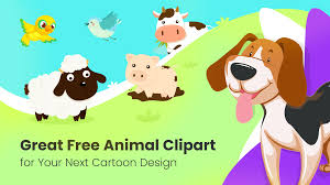 Great Free Animal Clipart For Your Next Cartoon Design