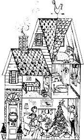 Barbie Doll House Coloring Pages Printable For L L L L L L L L L L