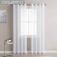 plain white bedroom door. Modern Plain White Sheer Curtains Kitchen Voile Tulle For Living Room Bedroom Door Window Custom