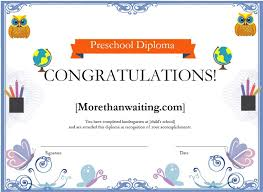 Microsoft Office Tamplates Download Preschool Diploma Borders Certificate For Microsoft