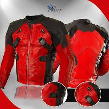 deadpool red black moto leather jacket 800x800 jpg