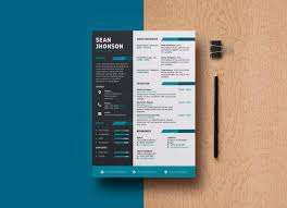 Free Professional Psd Resume Template And Cover Letter For Game