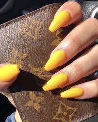 Kala Kiss N A I L S Kiss Gel Nails Yellow Nails Gel Nails