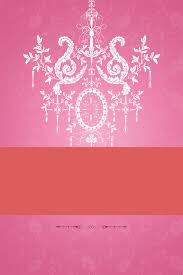 romantic pink chandelier holiday background shading material