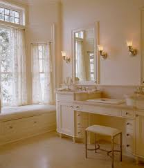 view in gallery ambient lighting and warm hues enhance the richness of this cream colored bathroom vanity amazing amazing bathroom lighting
