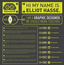 10 Awesome Infographic Resume Examples Inspiration Inspiration