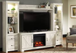bellaby white 4pc fireplace