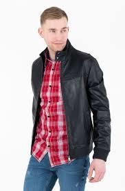 leather jacket nappa harrington jacket 1
