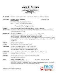 Graduate School Resume Objective Graduate School Resume Objective