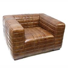 Industrial Living Room Furniture Industrial Modern Furniture Design Hub Andover Armchair Tobacco
