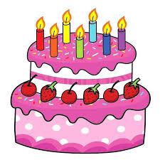 Znalezione obrazy dla zapytania birthday cake cartoon