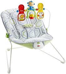 Amazon.com : Fisher-Price Baby's Bouncer, Geo Meadow : Baby