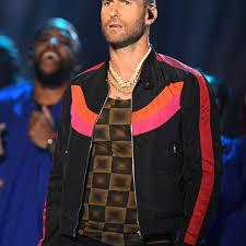 Adam Levine Super Bowl Halftime Jacket