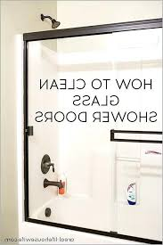 clr on glass shower door cleaning glass shower doors can be super frustrating check out these