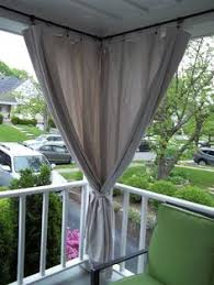 outdoor porch curtains. Canvas Drop Cloth Curtains For Screen Porch, Block Out Afternoon Sun. Outdoor Porch A