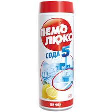 """<b>Средство чистящее Пемолюкс</b> """"Сода 5. Лимон"""", порошок, 480г ..."""