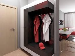 image of modern wall mount coat rack