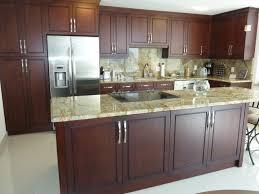 modern kitchen cabinets cherry. Contemporary Kitchen Cabinetry Cherry Brown Stain Finish Contemporary- Modern Cabinets