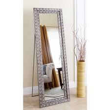 floor mirror. Abbyson Melania Floor Mirror - Silver Floor Mirror