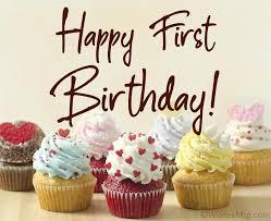 1st birthday wisheessages