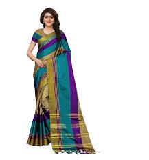 Indian Saree Designs Images Indian Saree For Women Latest Womens Saree Designer Party Wear Cotton Silk Printed Sari With Blouse Piece Buy Party Wear Saree With Designer Blouse
