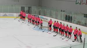 the ravens rugby team volunteered its time to a great cause ravens hosted the pink in the rink event at carleton ice house to raise funds for t