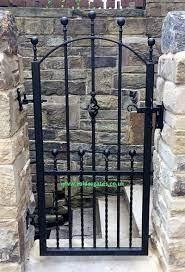 hebble wrought iron metal garden gate