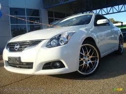 2010 Nissan Altima 3.5 SR Coupe in Winter Frost White - 146255 ...