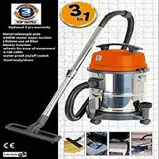 wet and dry vacuum hoover carpet vac cleaner industrial 20ltr 1400w 230v stainless steel power