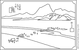 painting coloring pages.  Pages Hiroshige And Painting Coloring Pages P