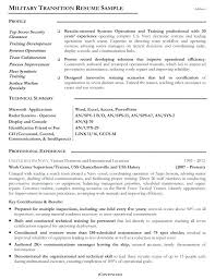 Example Military Resume Unique Us Navy Resume Examples Army Example Military Template To Civilian