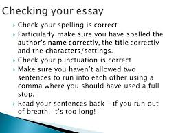 writing a critical essay ppt video online 12 checking your essay