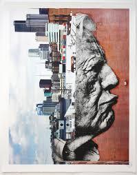 Upside Down Art Wrinkles Of The City Robert Upside Down Lithographs Jr Artist