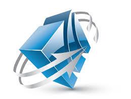 Design Free Logo: Online 3D Cube arrow Logo