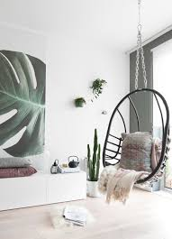Botanisch Behang In De Woonkamer Tanja Van Hoogdalem
