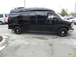 2008 Black Chevrolet Express 2500 Passenger Conversion Van ...