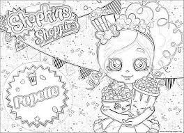 Best Of Shopkins Shoppies Coloring Adult Print Outs Free Coloring Book