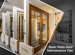 basic patio door maintenance tips
