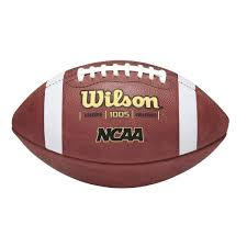 ncaa 1005 traditional official collegiate pattern football wilson sporting goods