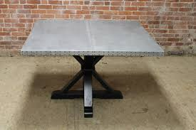 Square Pedestal Kitchen Table Square Tables Built From Reclaimed Wood Ecustomfinishes
