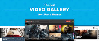 Wordpress Photo Gallery Theme Top 7 Best Video Gallery Wordpress Themes For Portfolios