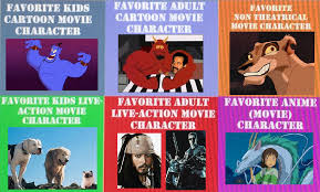 types of movies movies favorite types of characters by oboeshoes16 on deviantart