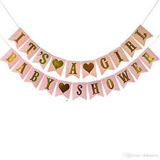2019 Multi Themes Its A Girl Boy Banner Baby Shower Birthday Party Decorations Photo Booth Happy Birthday Bunting Garland Flags From Ulikeparty 2 94