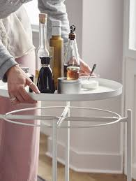 About a metre or so away from the sofa is the ideal place to park your tv remote control, your phone and all your other gadgets. Coffee Tables Side Tables Ikea