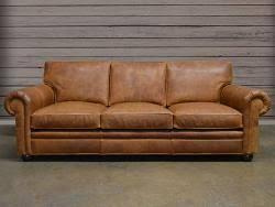 Langston Leather Sofa