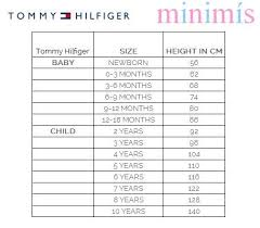 Tommy Hilfiger New York Fit Size Chart Tommy Hilfiger Size Chart Best Picture Of Chart Anyimage Org