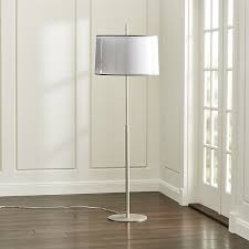 crate and barrel lighting fixtures. contemporary floor lamp layers on sophistication with double fabric shades eclipseu0027s sheer outer shade veils crate and barrel lighting fixtures