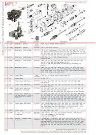 massey ferguson hydraulic pumps page 282 sparex parts lists s 70375 massey ferguson mf07 272