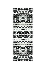 aztec print rug black and white rug linear black black and white outdoor rug black and